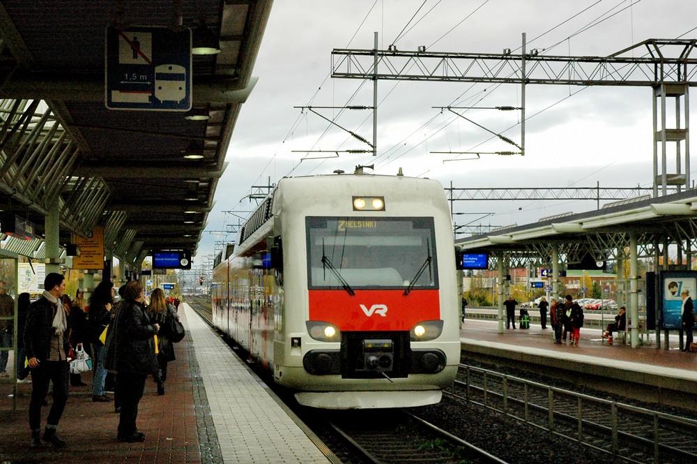 Станция Тиккурила