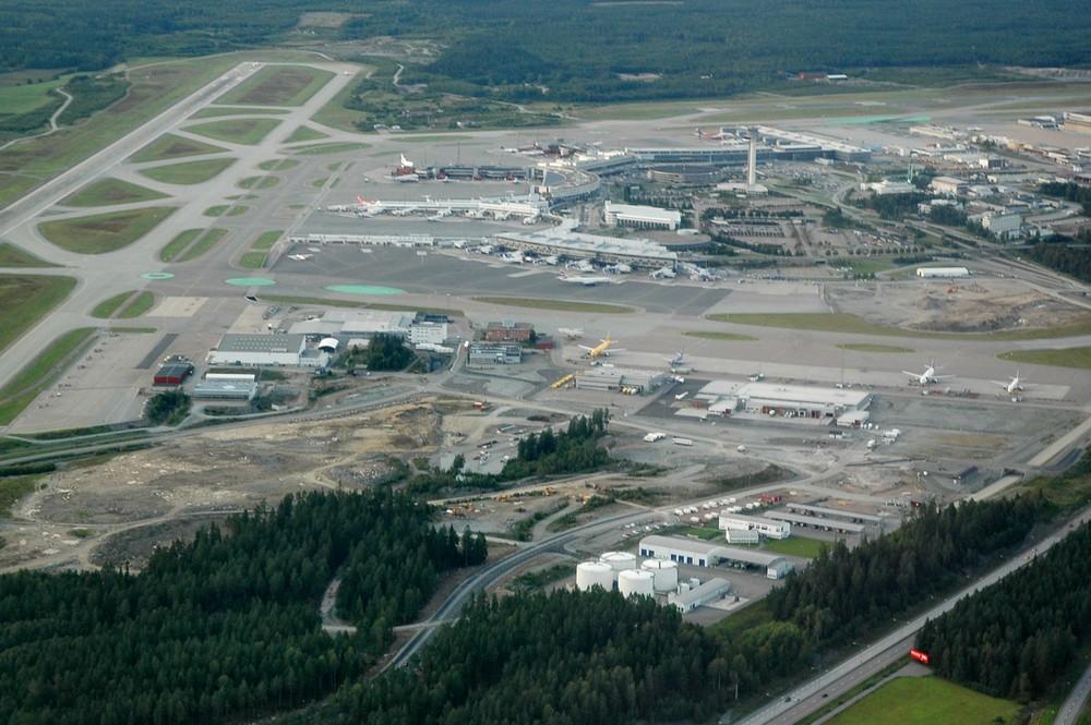 Панорама аэропорта Арланда (Arlanda)