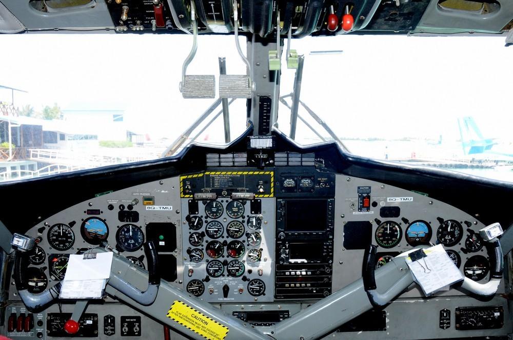 Кабина гидроплана Twin Otter DHC-6-300