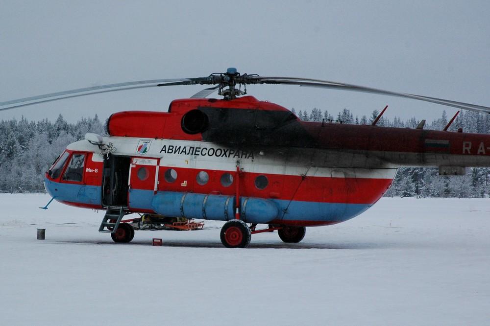 Ми-8 Авиалесоохраны