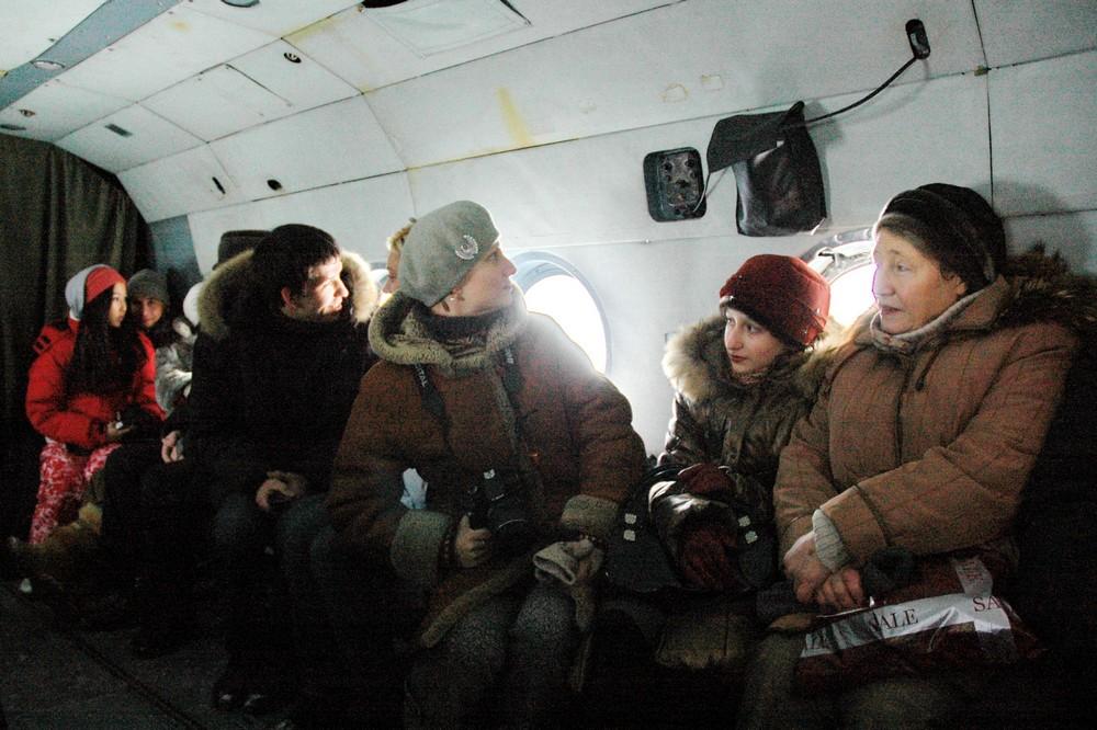 Салон Ми-8 авиакомпании Авиалесоохрана