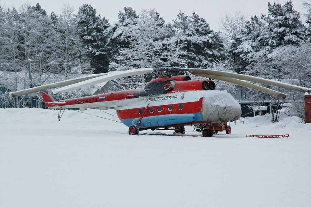 Ми-8 авиакомпании Авиалесоохрана