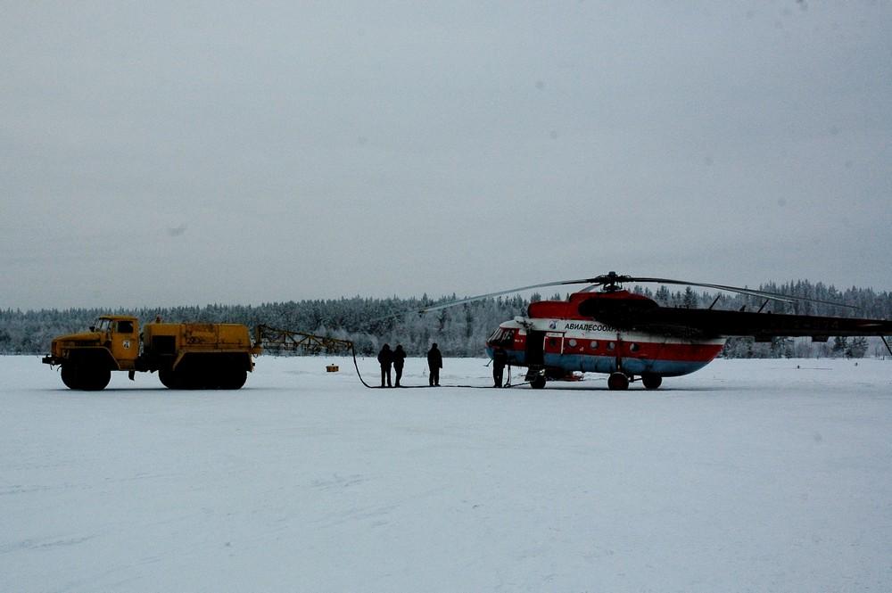 Ремонт Ми-8 авиакомпании Авиалесоохрана