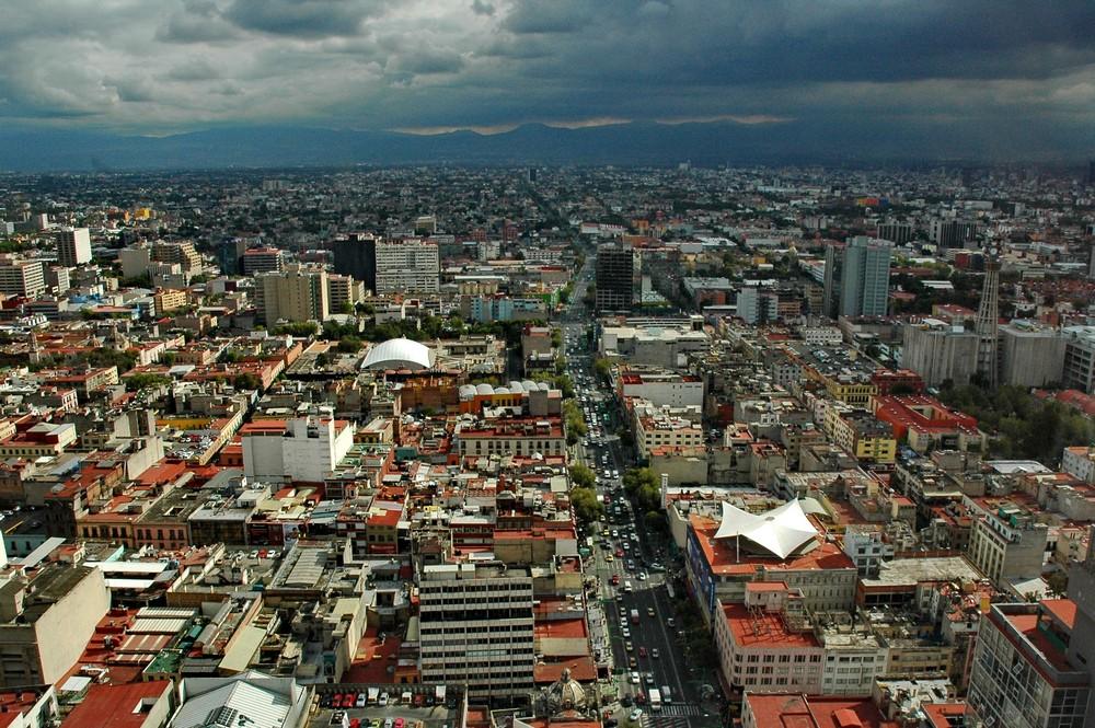 мехико с высоты птичьего полета фото речь идет