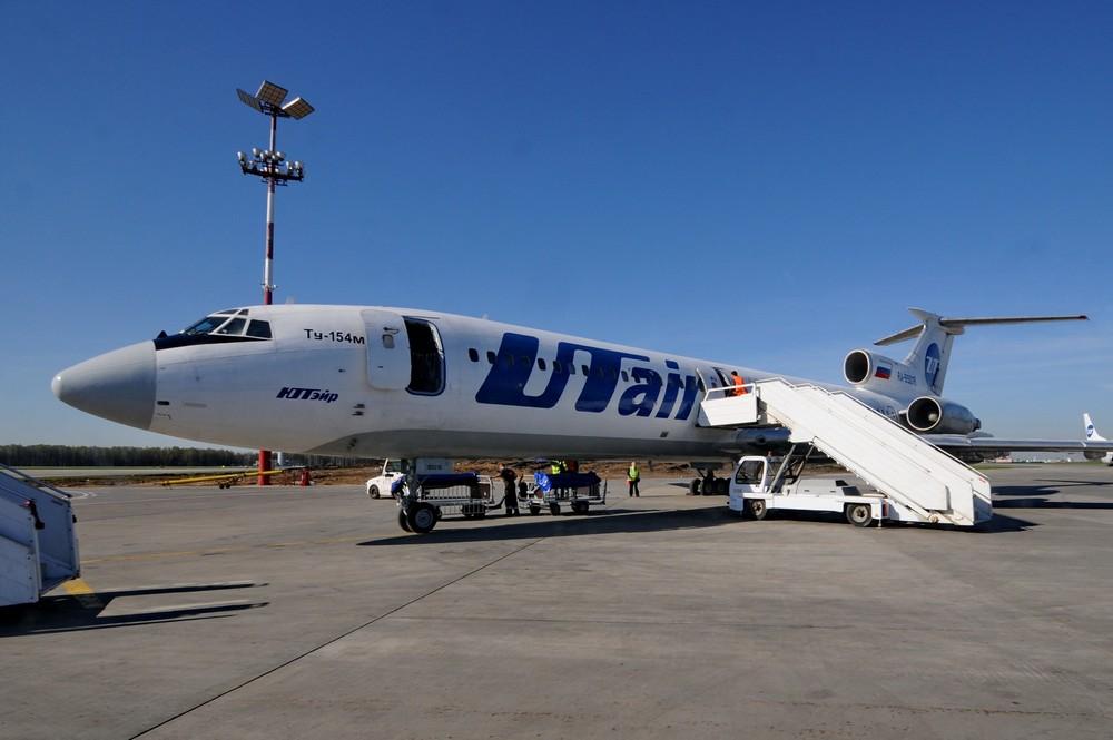Самолет Ту-154 авиакомпании UTair