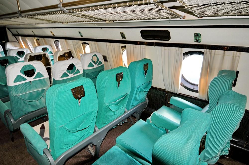 Третий салон Ту-114 в Монино