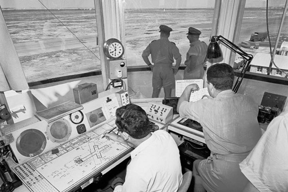 Диспетчерская вышка аэропорта Никосия. Архивное фото с сайта cyprusairports.com.cy