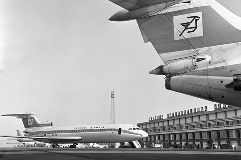 Самолеты в аэропорту Никосия. Архивное фото с сайта cyprusairports.com.cy