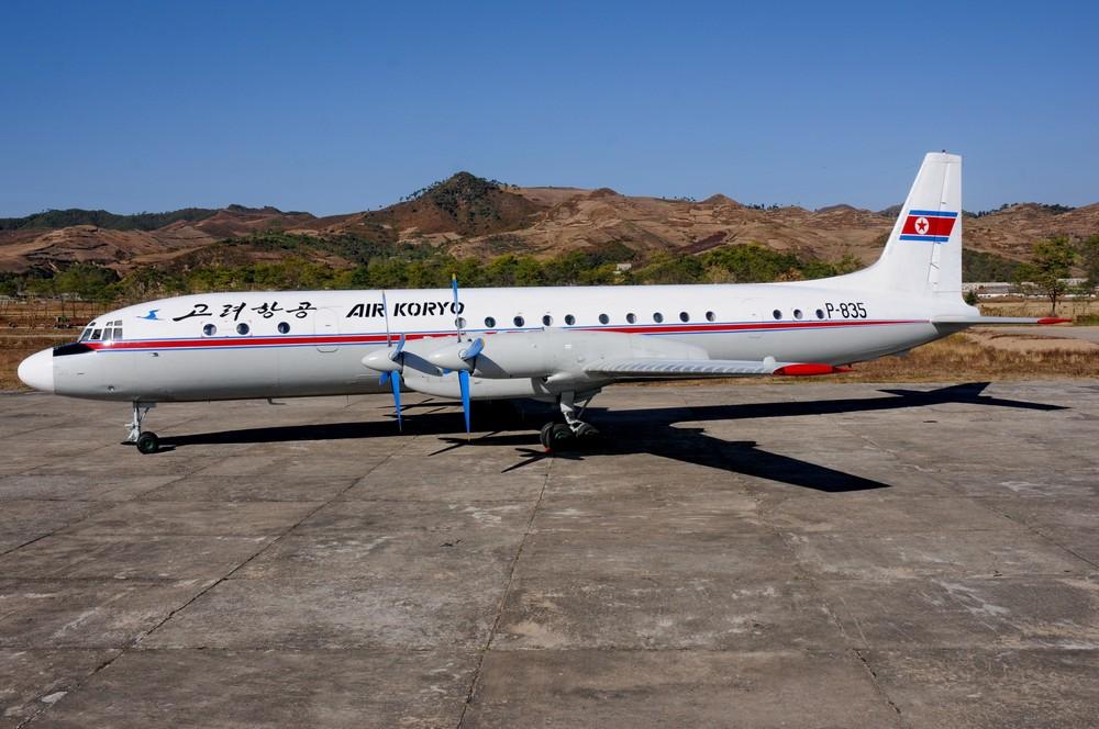 Ил-18 авиакомпании Air Koryo в аэропорту Оранг