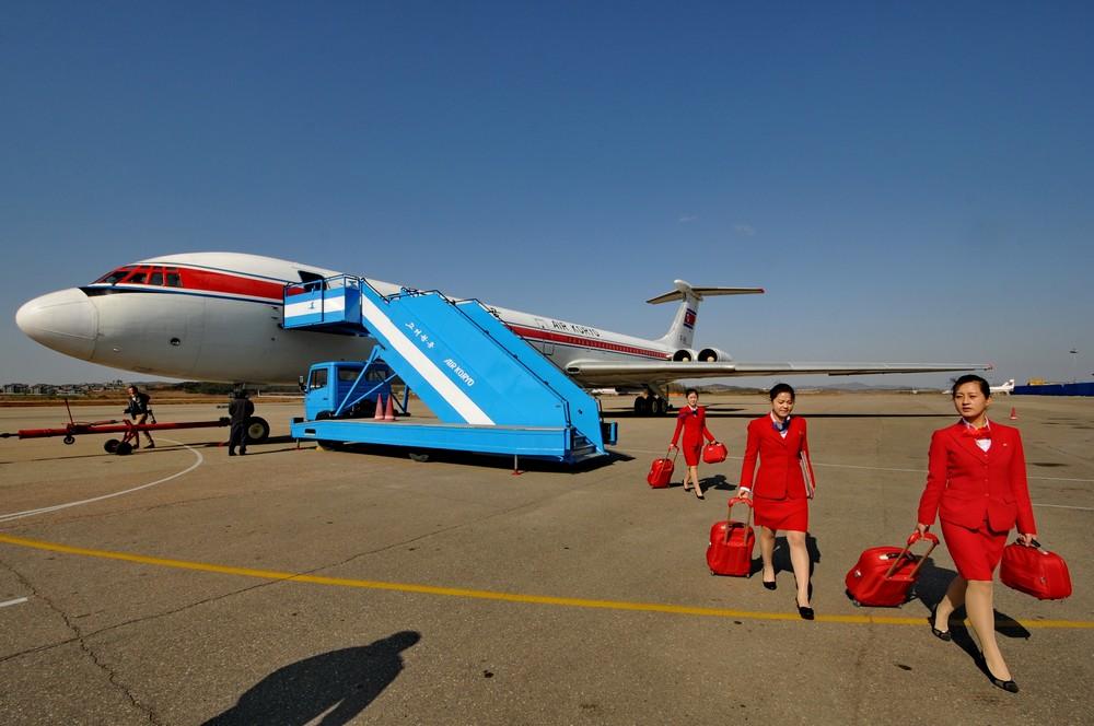 Стюардессы Air Koryo