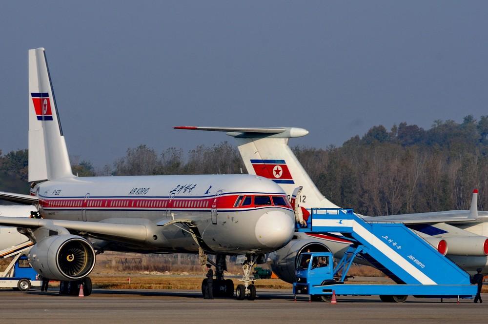 Ту-204-100 авиакомпании Air Koryo в аэропорту Сунан (Пхеньян)