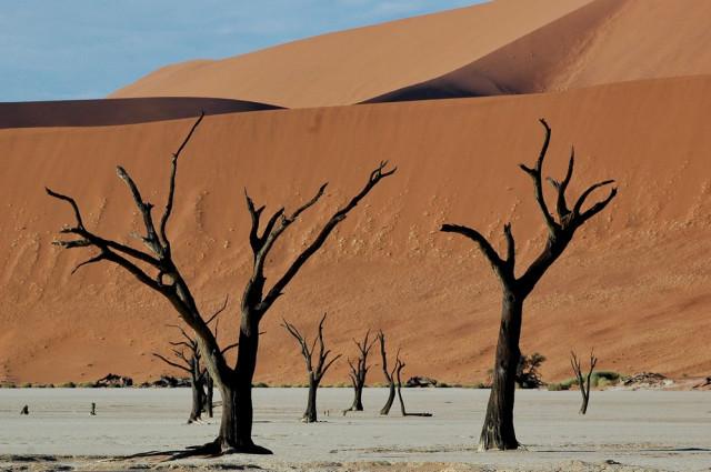 Deadvlei - Долина Смерти в Намибии