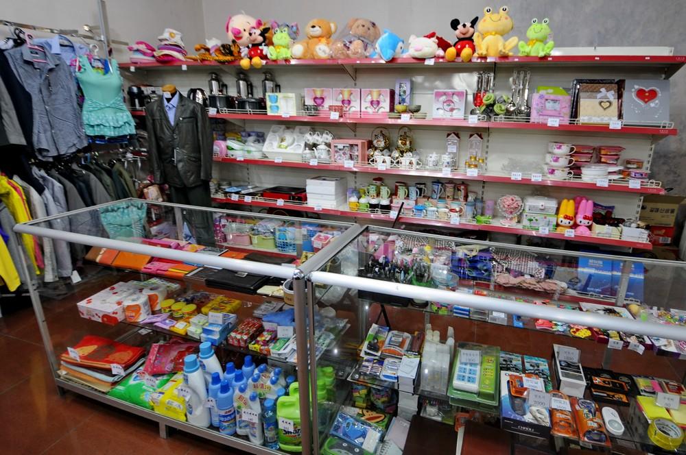 Магазин Березка в Пхеньяне