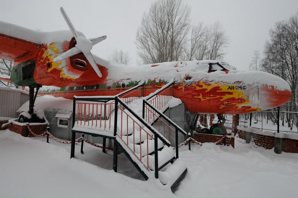 Ан-24: ресторан-самолет в Перми