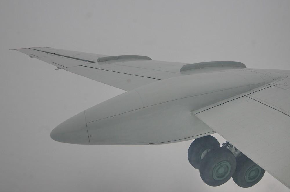 Ту-134. Выпуск шасси