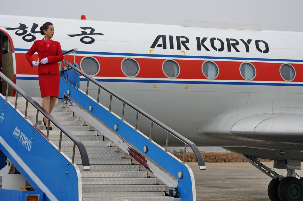 Гражданская авиация Северной Кореи. Стюардесса