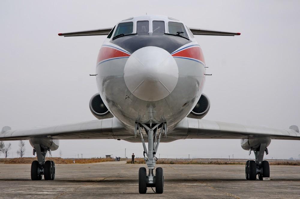 Гражданская авиация Северной Кореи. Ту-134