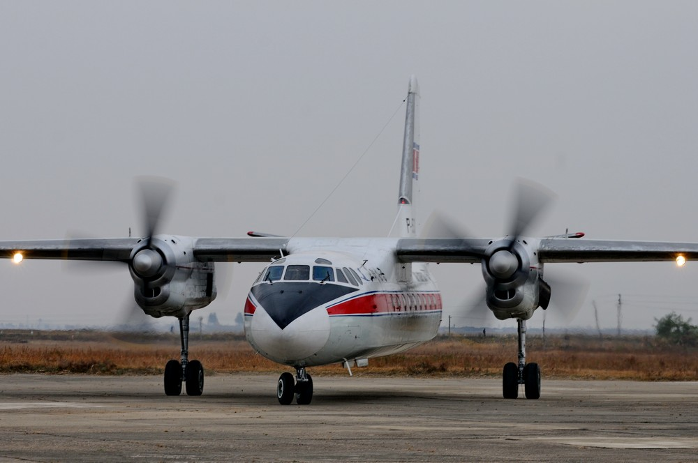 На Ан-24 из Хамхына в Пхеньян - Уральский портал об авиации