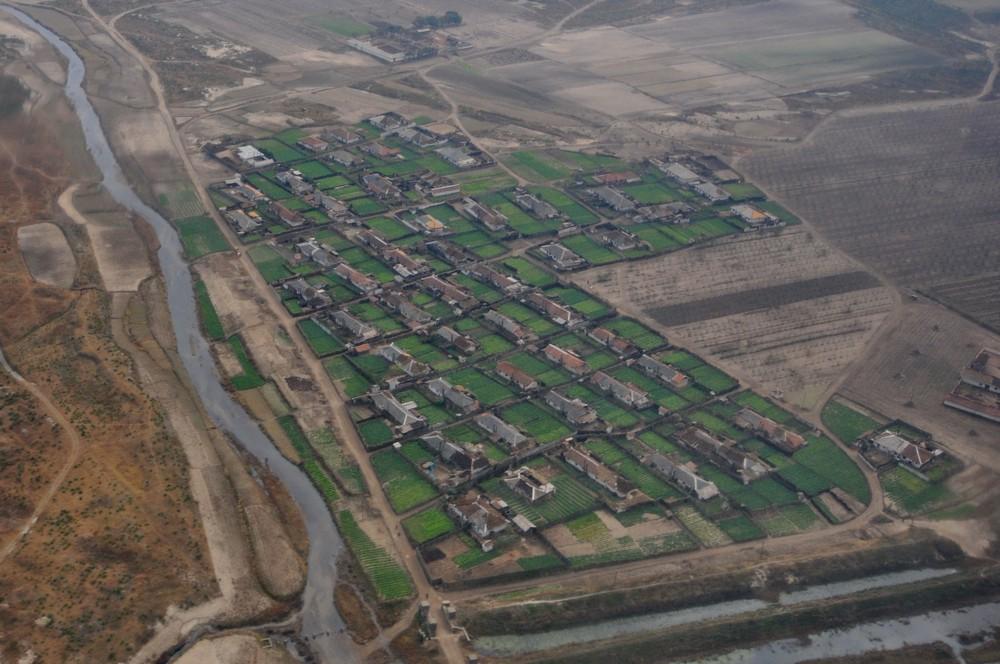 Деревня под Хамхыном, Северная Корея