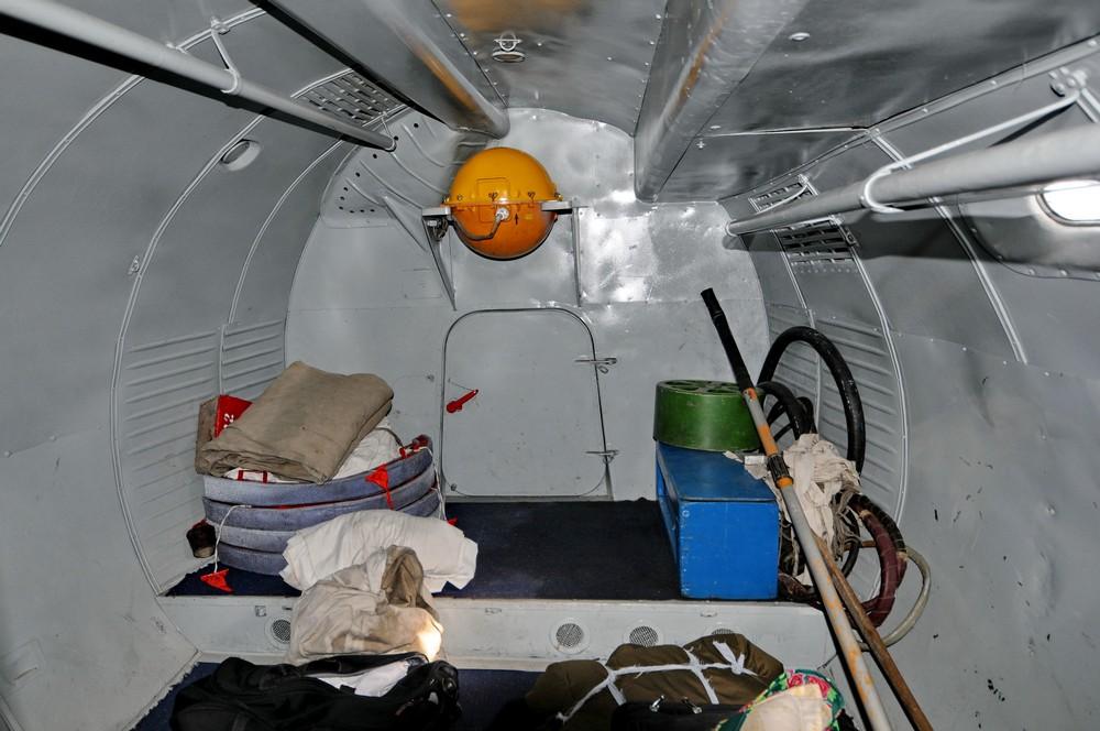 Багажный отсек самолета Ан-24