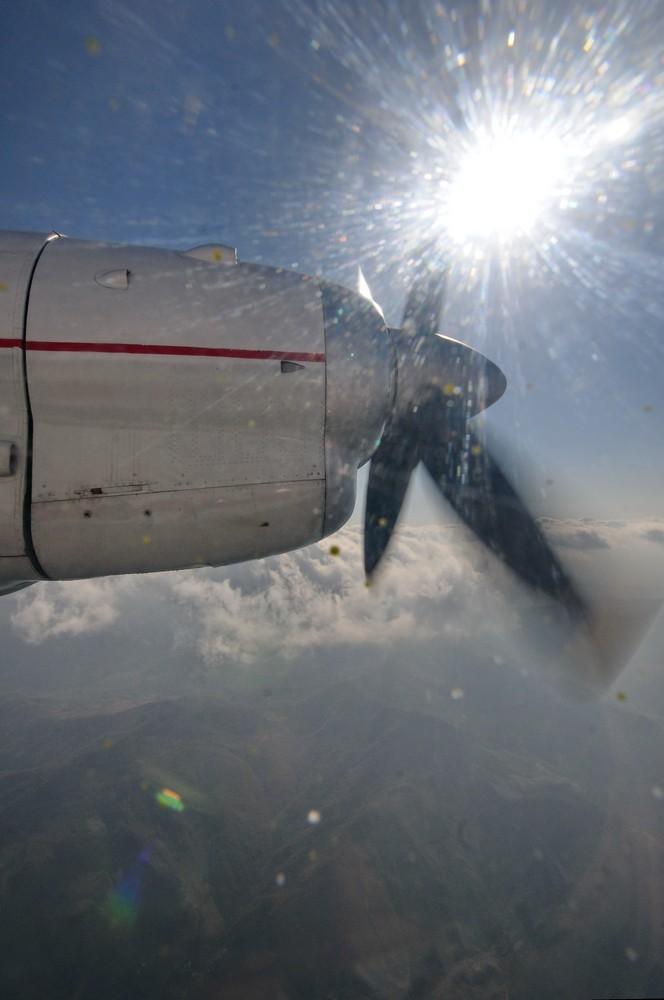 Двигатель самолета Ан-24