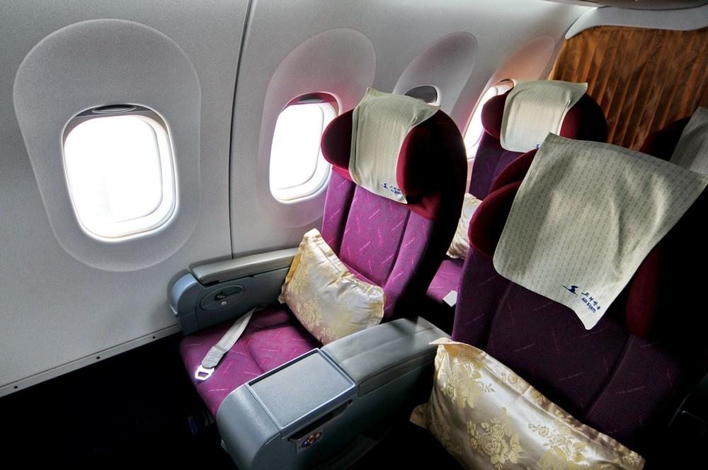 Бизнес-класс авиакомпании Air Koryo