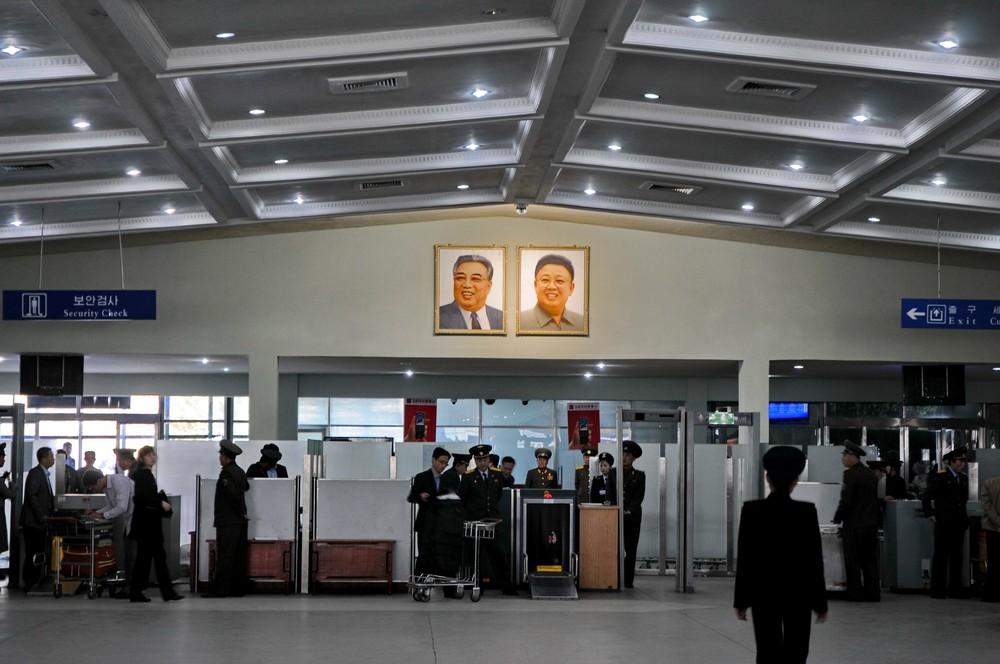 Новый терминал пхеньянского аэропорта