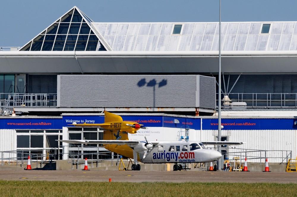 Trislander авиакомпании Aurigny