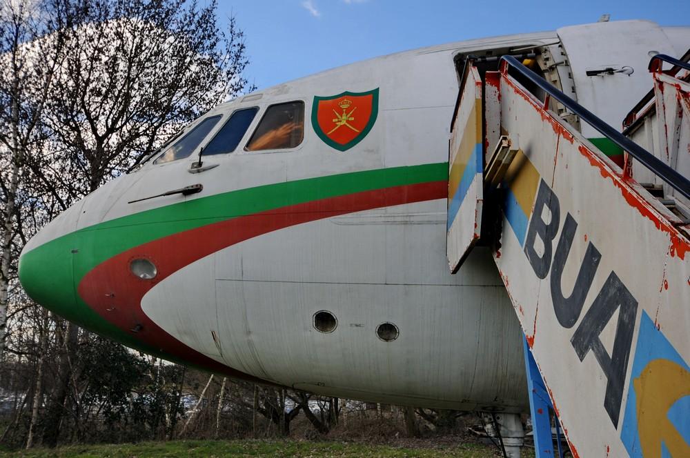 Кабина самолета Vickers VC-10