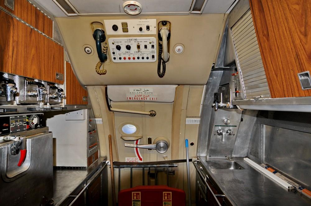 Кухня самолета VC-10 султана Омана