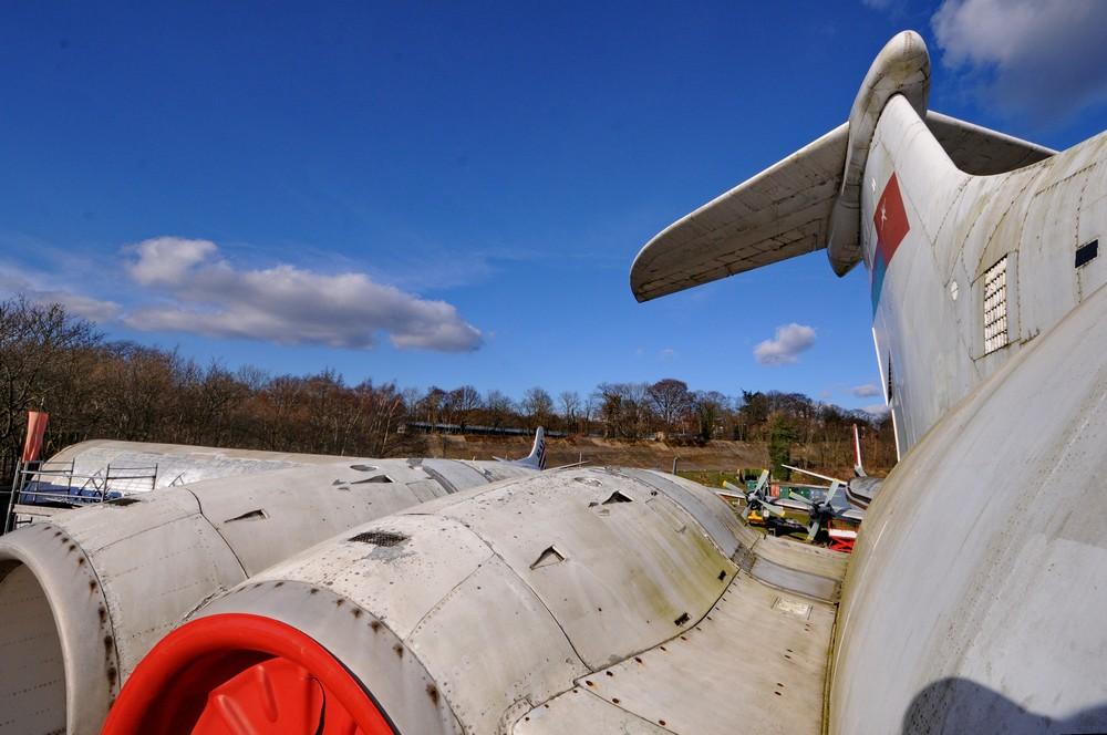 Хвостовое оперение самолета VC-10
