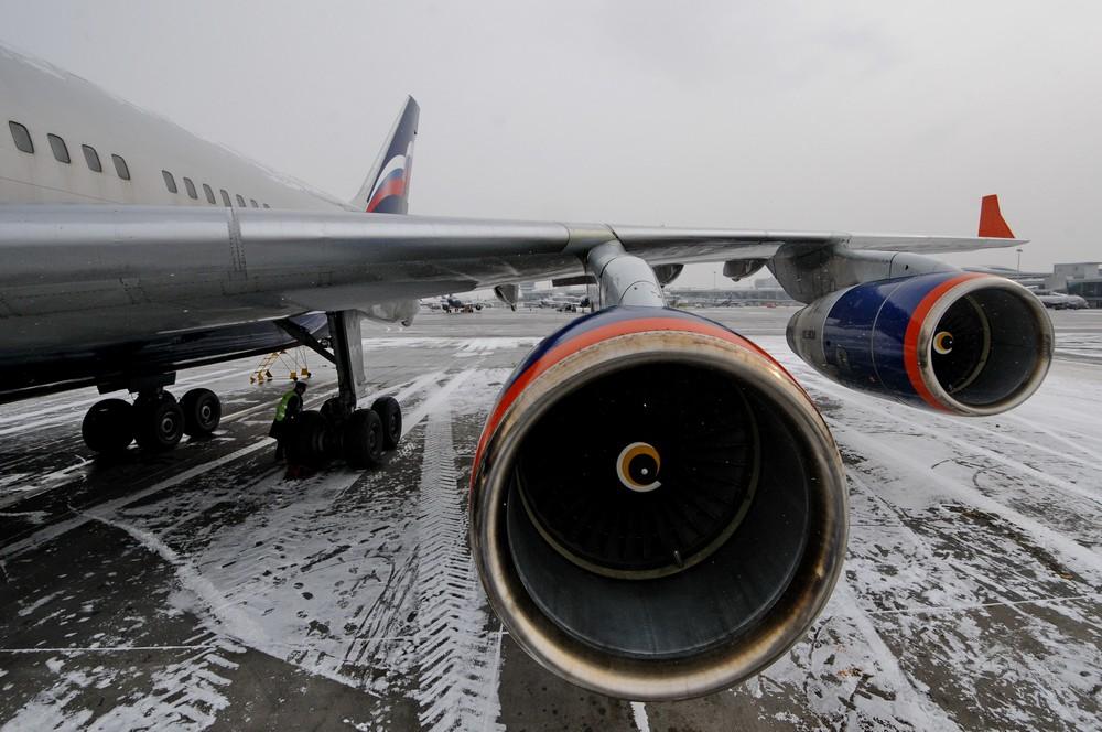 Двигатели Ил 96-300 авиакомпании Аэрофлот