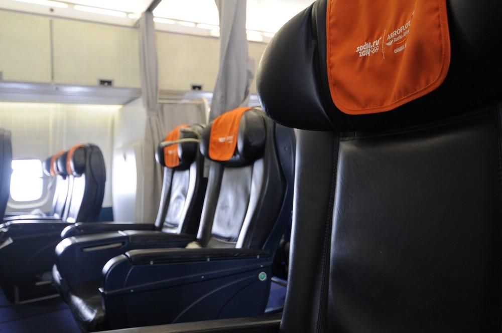 Кресло бизнес-класса Ил-96 авиакомпании Аэрофлот