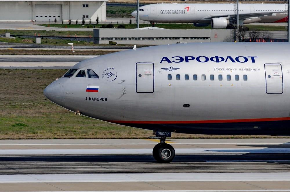 Ил-96 Аэрофлота Алексей Майоров Взлет