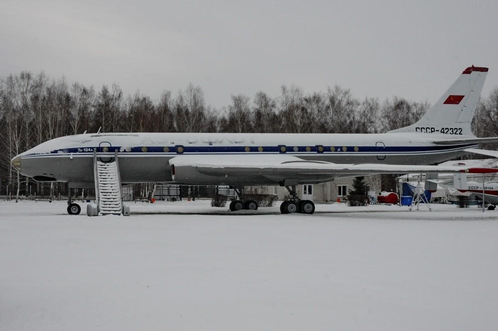Ту-104 в Отраслевом музее Гражданской авиации в Ульяновске