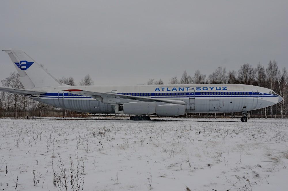 Ил-86 авиакомпании Атлант-Союз в музее ГА в Ульяновске