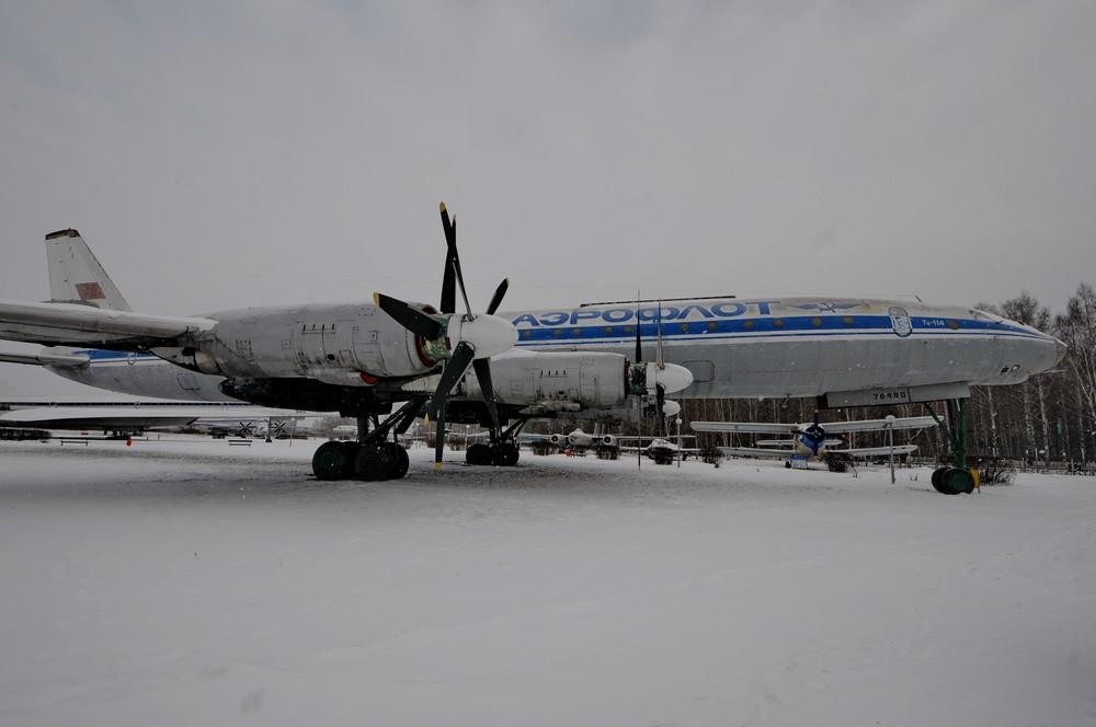 Ту-114 в ульяновском авиамузее