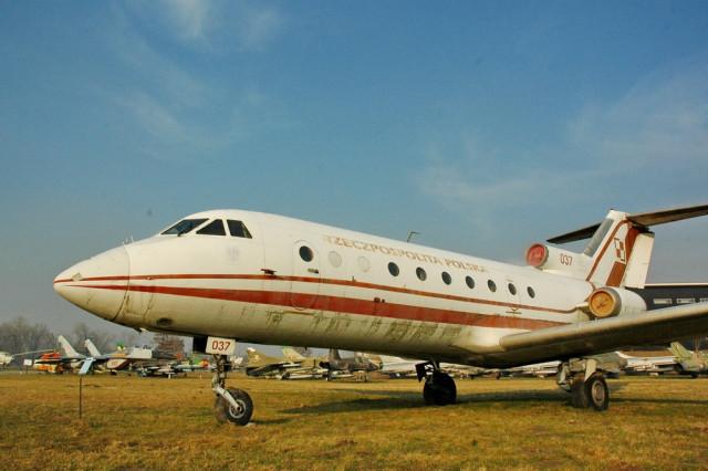 Як-40 в Музее польской авиации в Кракове