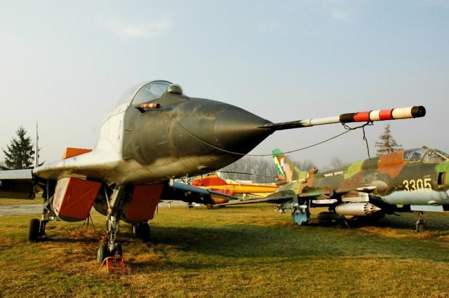 МиГ-29 в Музее авиации Польши