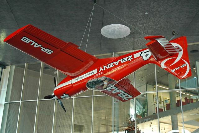 Zlin Z-50 в Музее авиации Польши