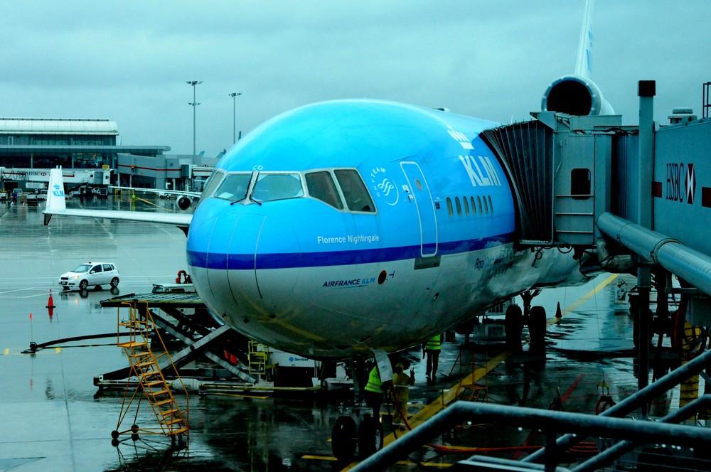 MD11 авиакомпании KLM, последний рейс