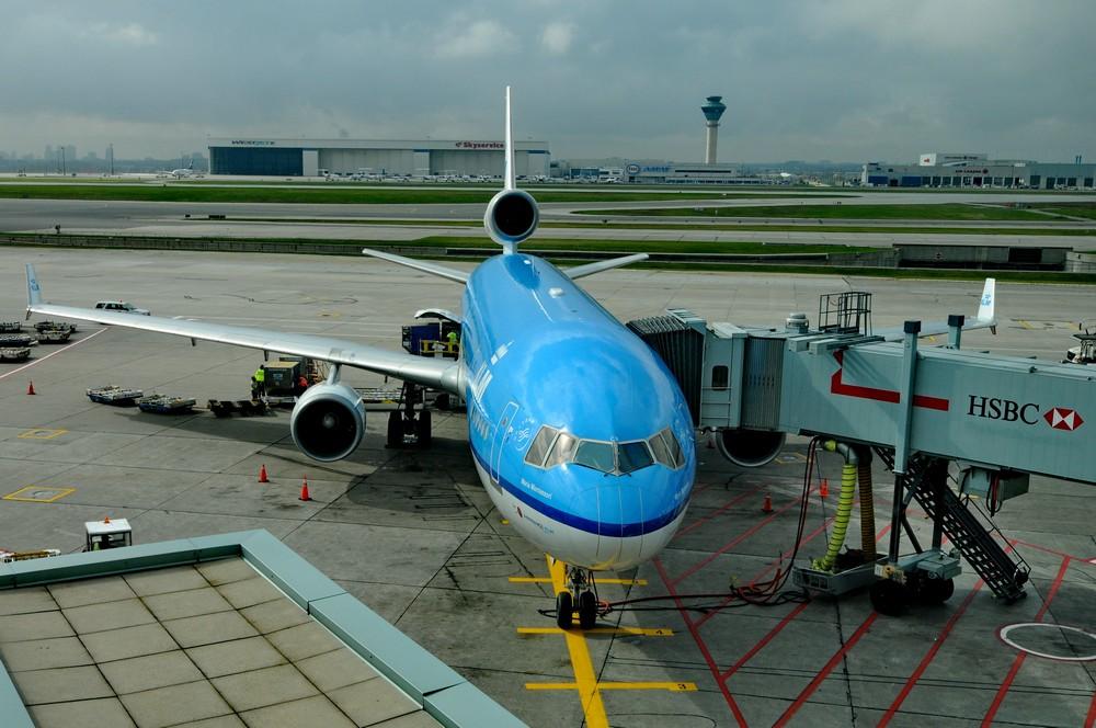 Самолет MD-11 авиакомпании KLM