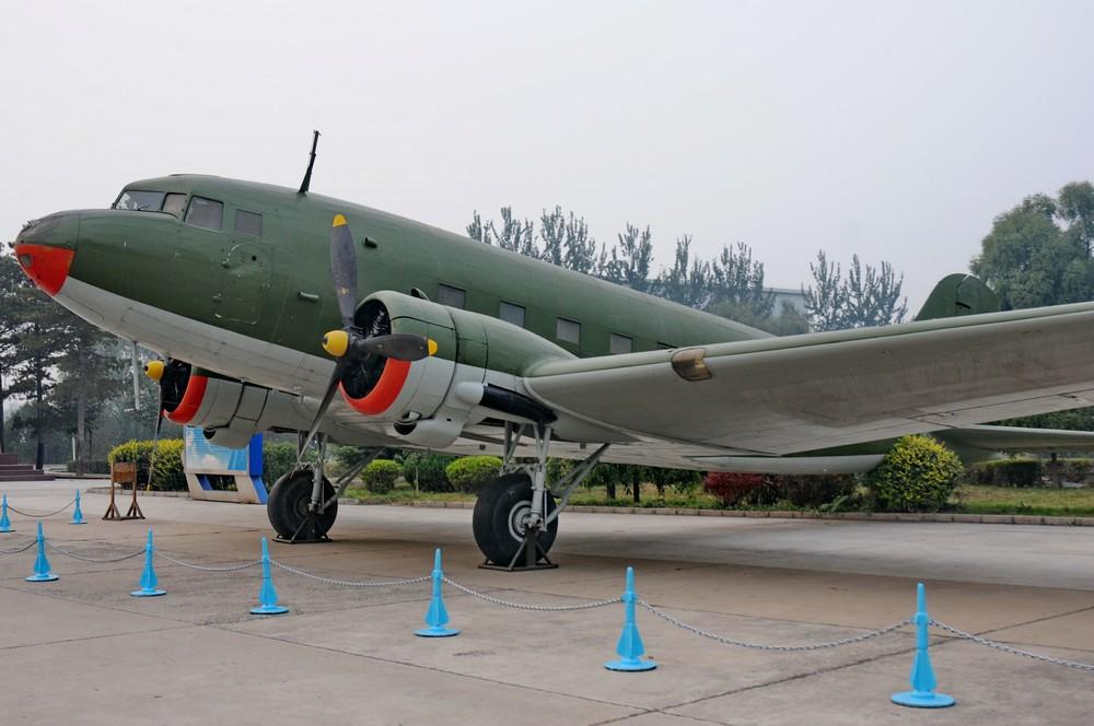 Ли-2 Скогда в музее авиации Китая в Датангшане