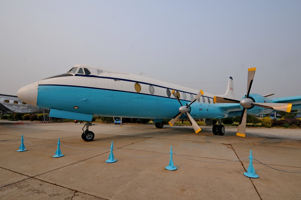 Vickers Viscount Мао в Китайском музее авиации в Датангшане