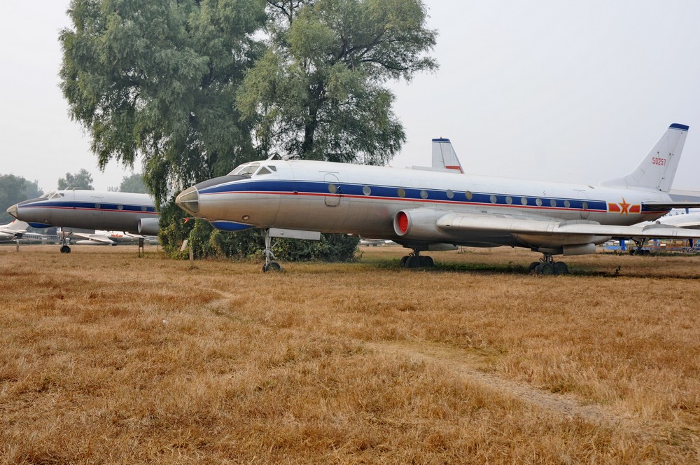 Ту-124 Китайских ВВС в музее авиации в Пекине