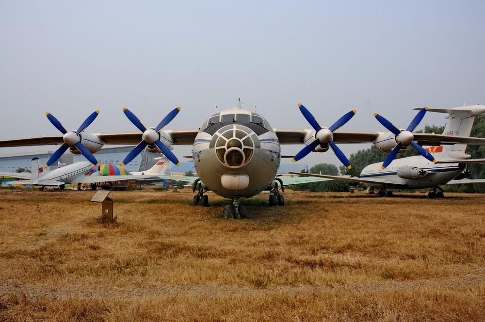 Ан-12 в Музее китайской авиации в Датангшане