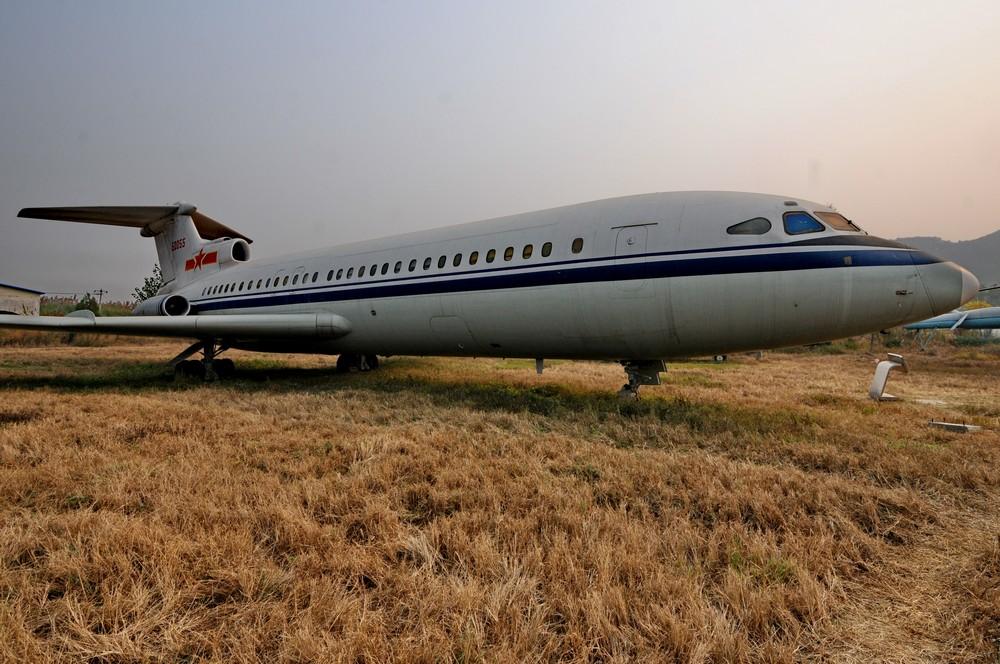 Trident в пекинском авиационном музее в Датангшане