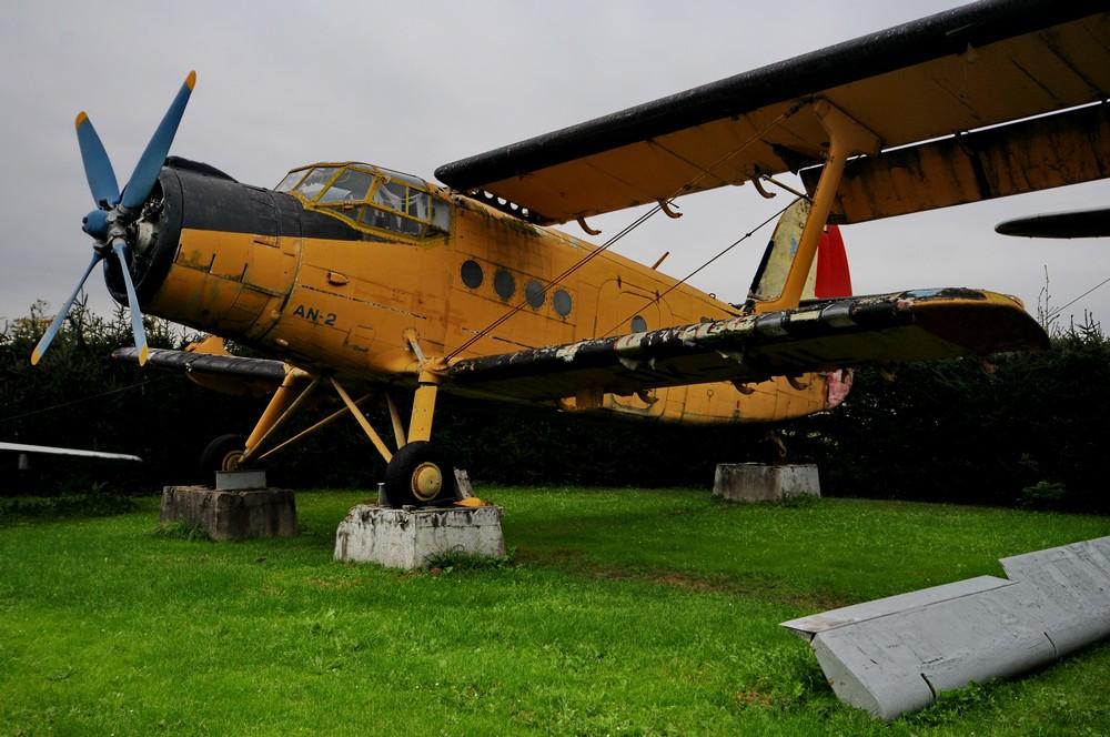 Самолет Ан-2. Зруч-Сенец у Пльзня