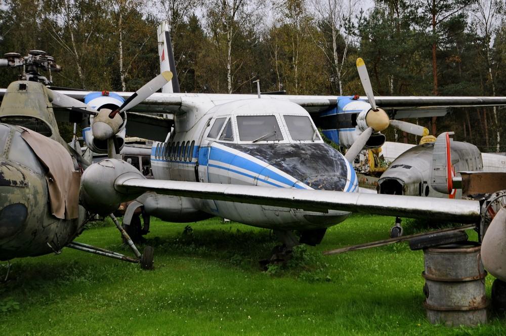 L-410. Музей авиации в Чехии