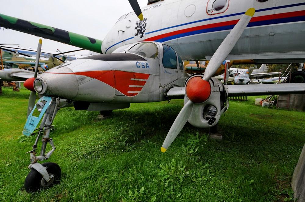 L-200 Морава в музее авиации в Пилсене